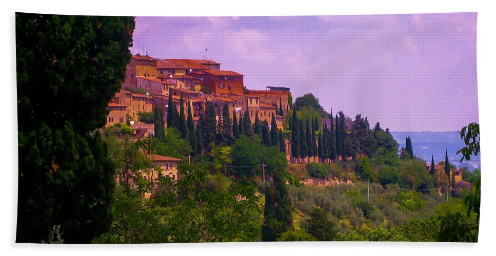 Tuscany Hand Towel featuring the photograph Wonderful Tuscany by Dany Lison