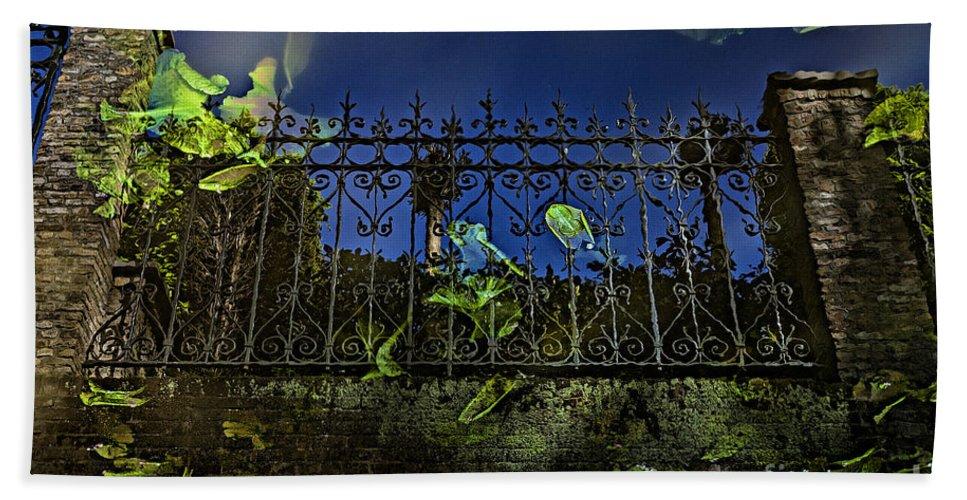 Gate Bath Sheet featuring the photograph Wonderland-1 by Casper Cammeraat