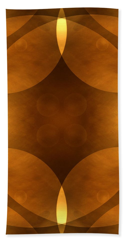 Abstract Bath Sheet featuring the photograph Worlds Collide 11 by Mike McGlothlen
