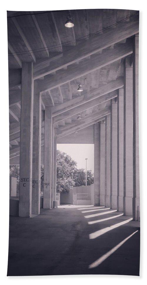 Joan Carroll Bath Sheet featuring the photograph Wpa Project Farrington Field by Joan Carroll