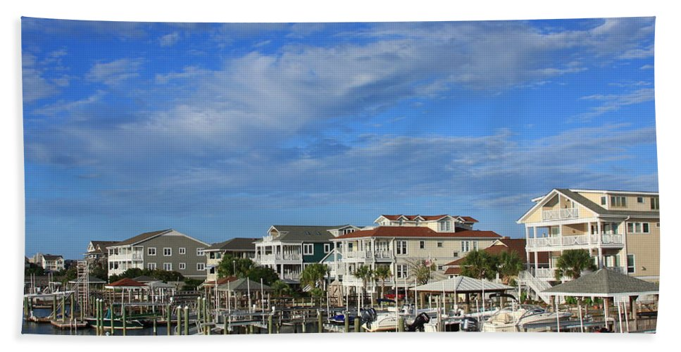 Wrightsville Beach Bath Sheet featuring the photograph Wrightsville Beach - North Carolina by Mountains to the Sea Photo