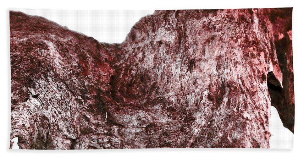 (c) Paul Davenport Hand Towel featuring the photograph wudu 2 V by Paul Davenport
