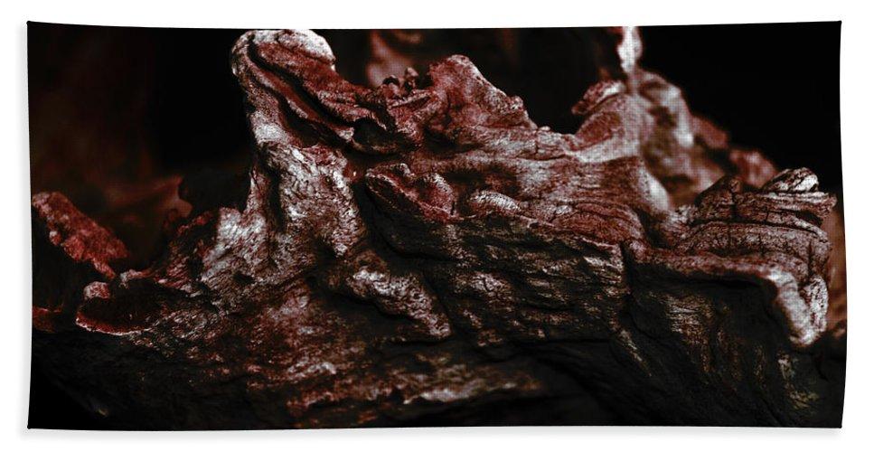 � Paul Davenport Hand Towel featuring the photograph wudu 2 XIX by Paul Davenport