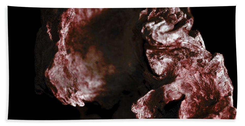 � Paul Davenport Hand Towel featuring the photograph wudu 2 XXXI by Paul Davenport