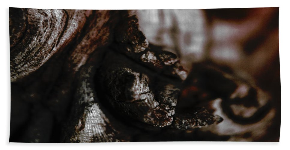 (c) Paul Davenport Hand Towel featuring the photograph wudu 2 XXXVII by Paul Davenport