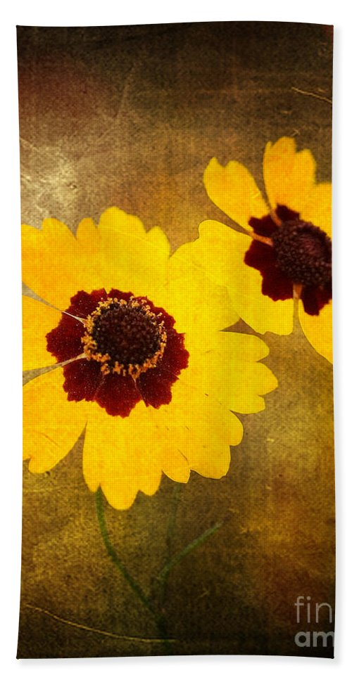 Flower Hand Towel featuring the photograph Yellow Prize by Scott Pellegrin