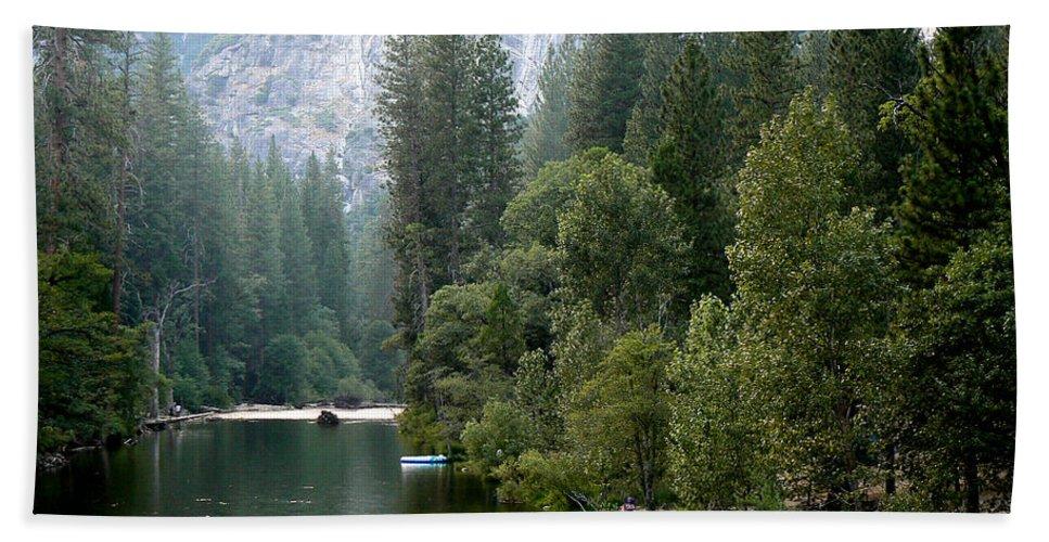 Yosemite National Park Hand Towel featuring the photograph Yosemite National Park by Laurel Powell