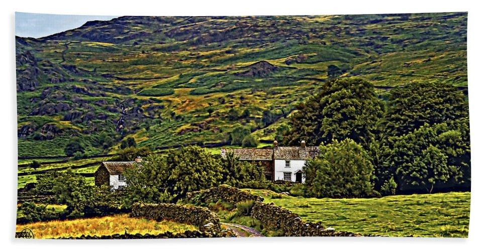 Duddon Valley Bath Sheet featuring the photograph Duddon Valley by Steve Harrington