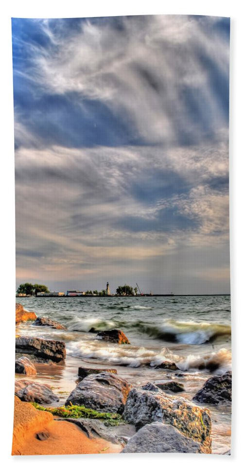 Hand Towel featuring the photograph 001 In Harmony With Nature Series by Michael Frank Jr