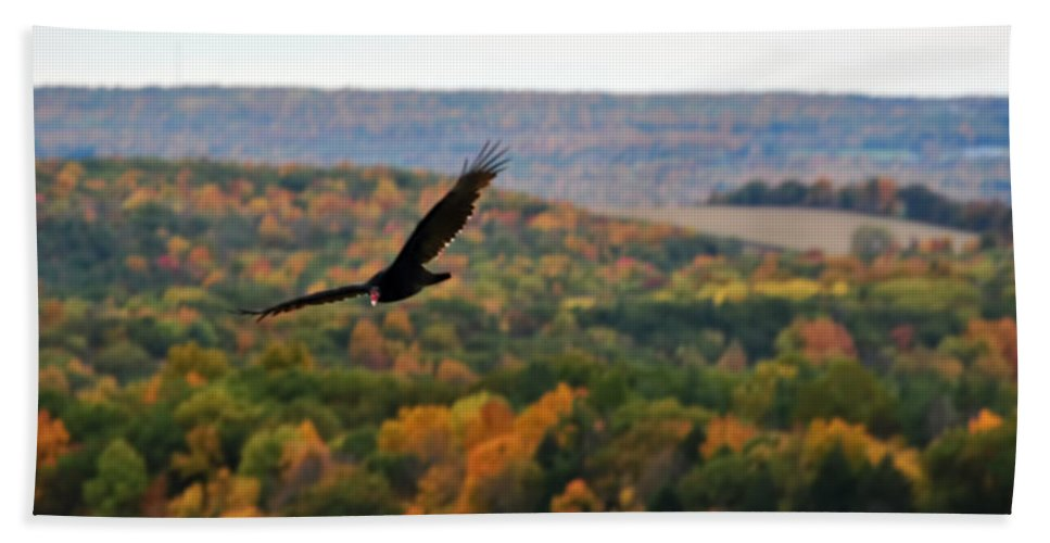 Hand Towel featuring the photograph 003 Letchworth State Park Series by Michael Frank Jr