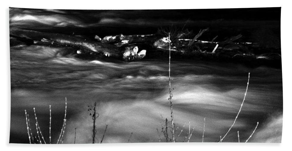 Bath Sheet featuring the photograph 06 Niagara Falls Usa Rapids Series by Michael Frank Jr