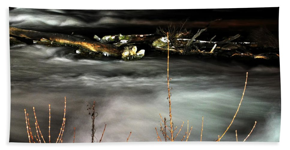 Bath Sheet featuring the photograph 03 Niagara Falls Usa Rapids Series by Michael Frank Jr