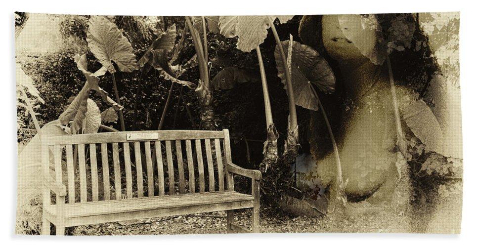 Garden Bath Sheet featuring the photograph A Trip Through Time by Madeline Ellis