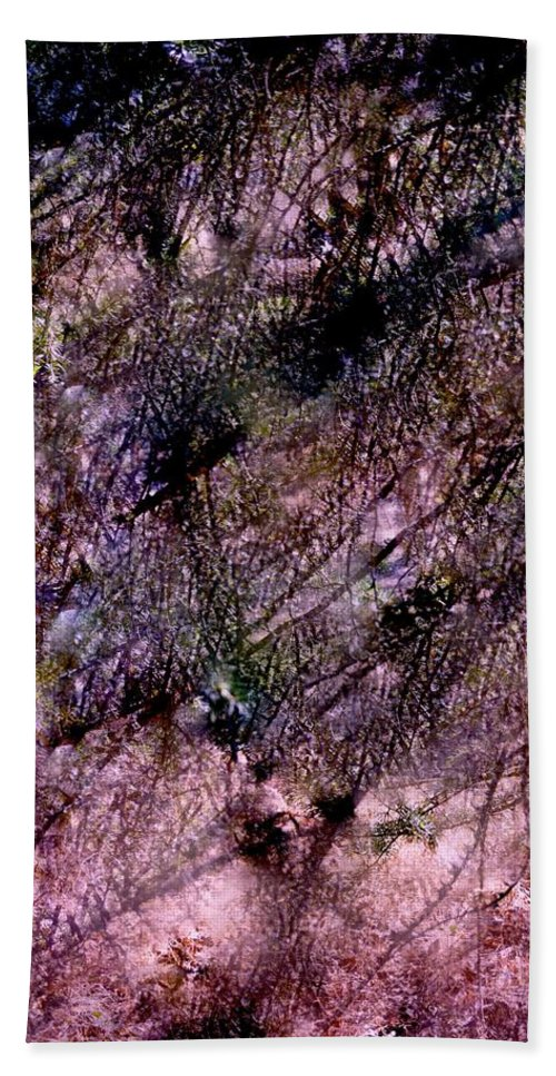 Abstract Hand Towel featuring the photograph Abstract 85 by Pamela Cooper