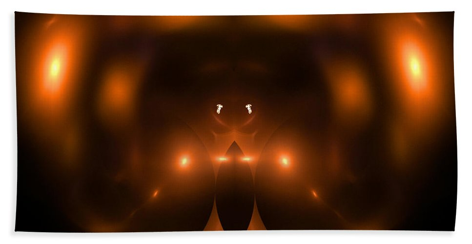 Fractal Digital Art Bath Sheet featuring the photograph Abstract Fifty-two by Mike Nellums