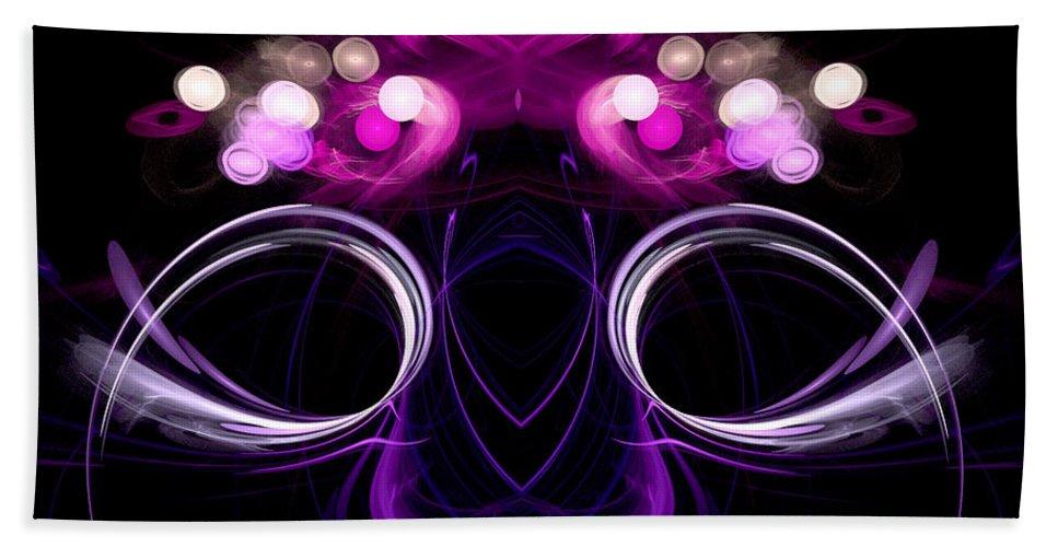 Fractal Digital Art Bath Sheet featuring the photograph Abstract Sixteen by Mike Nellums