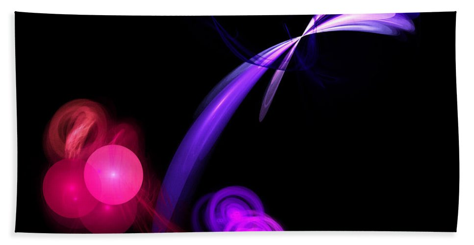 Fractal Digital Art Bath Sheet featuring the photograph Abstract Twelve by Mike Nellums