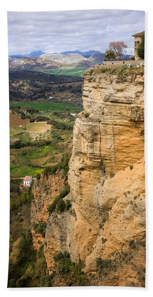 Andalucia Hand Towel featuring the photograph Andalusia Landscape by Artur Bogacki