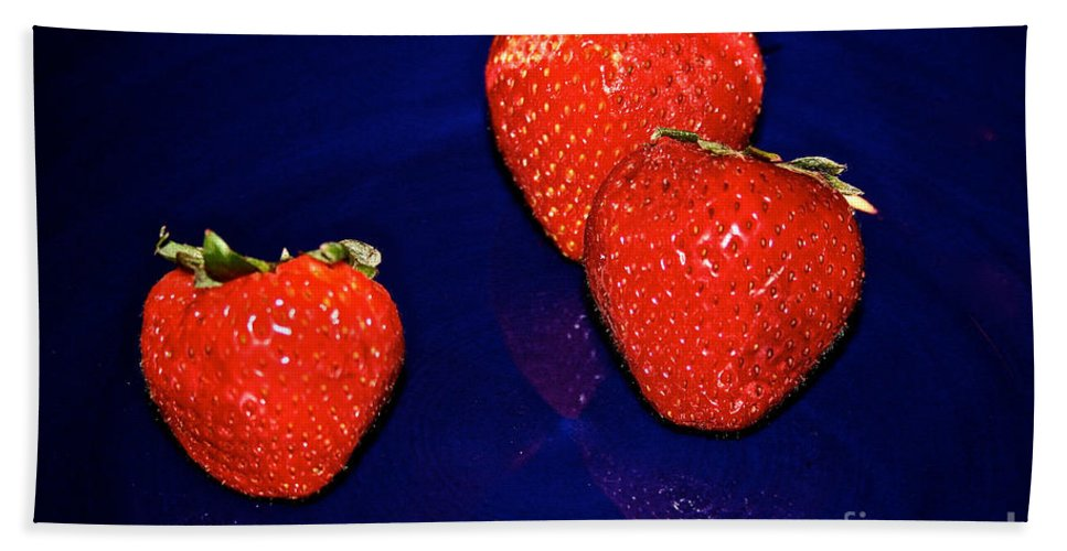 Food Bath Sheet featuring the photograph Breakfast by Susan Herber