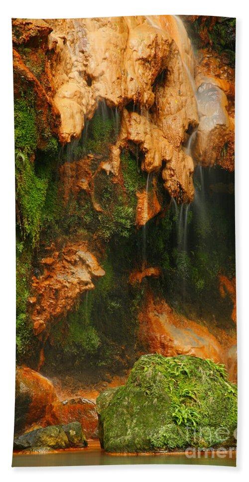 Azores Bath Sheet featuring the photograph Caldeira Velha Park by Gaspar Avila