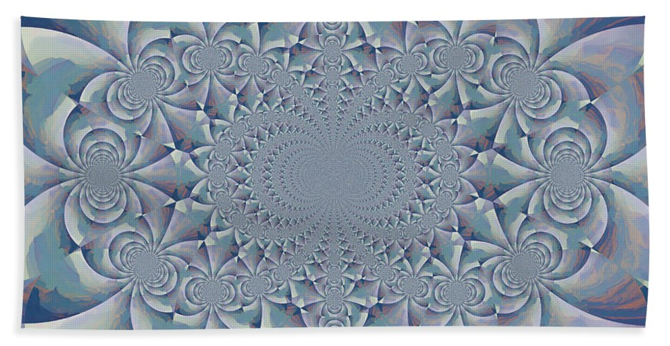 Kaleidoscope Bath Sheet featuring the photograph Calm by Heidi Smith
