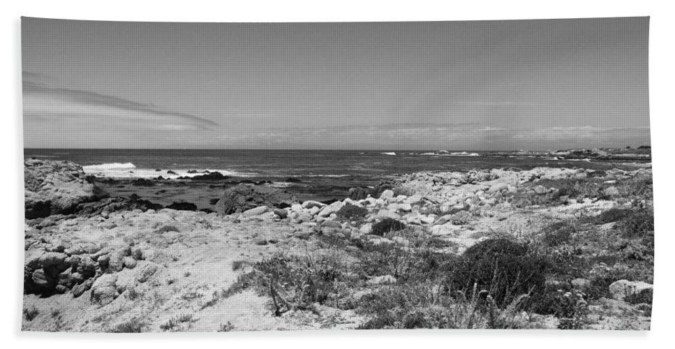 Coast Bath Sheet featuring the photograph Coastal View by Kathleen Grace