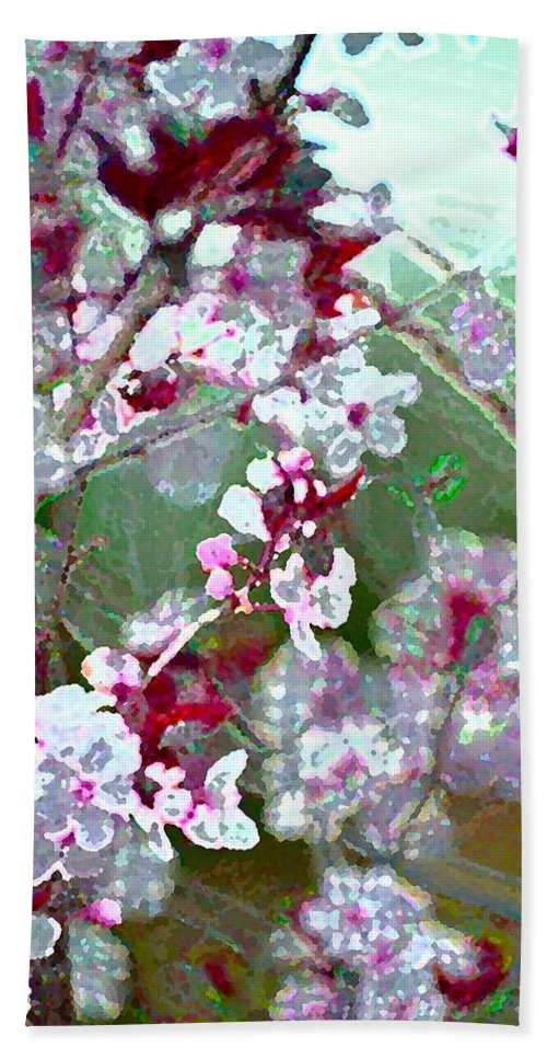Tree Bath Sheet featuring the photograph Color 59 by Pamela Cooper