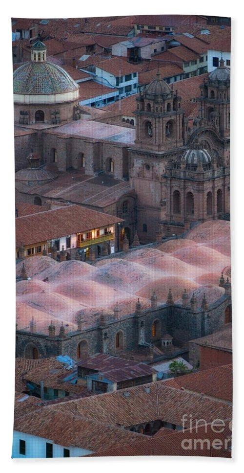 Peru Bath Sheet featuring the photograph Cusco by Doug Sturgess