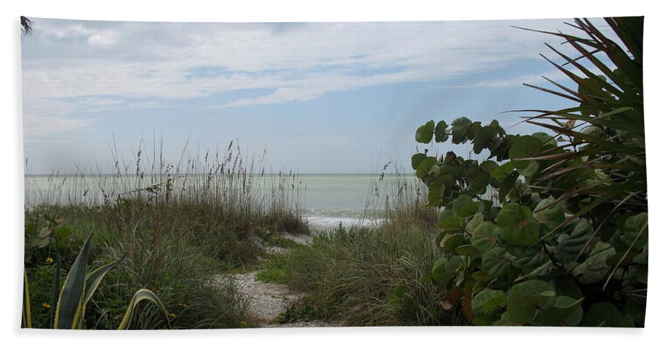 Dune Bath Sheet featuring the photograph Dune Landscape by Christiane Schulze Art And Photography
