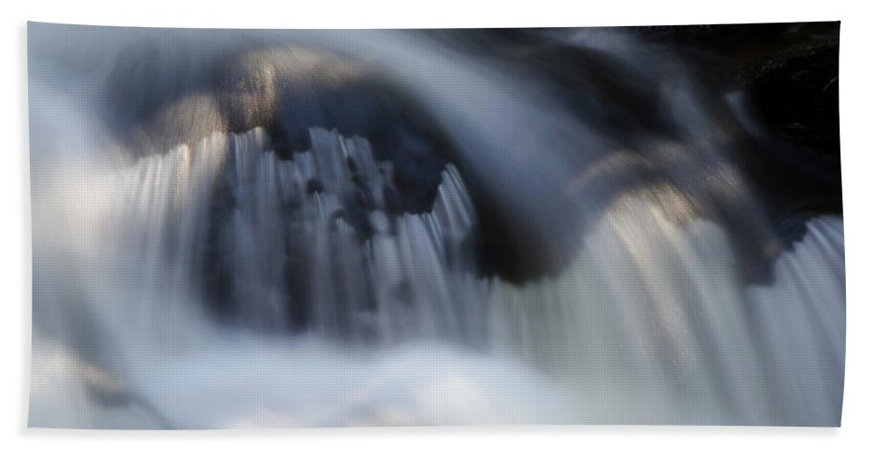 Falls Hand Towel featuring the photograph Falls Detail by Jeff Galbraith