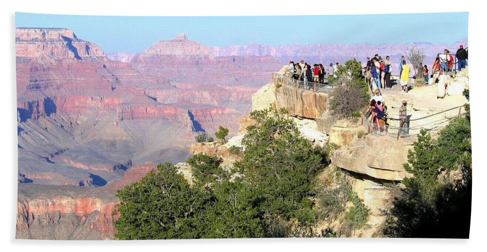 Grand Canyon Bath Sheet featuring the photograph Grand Canyon 16 by Will Borden