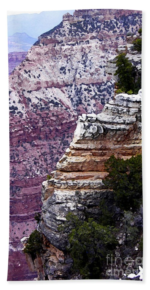 For Contest Entry Bath Sheet featuring the photograph Grand Canyon 2 by Mike Nellums