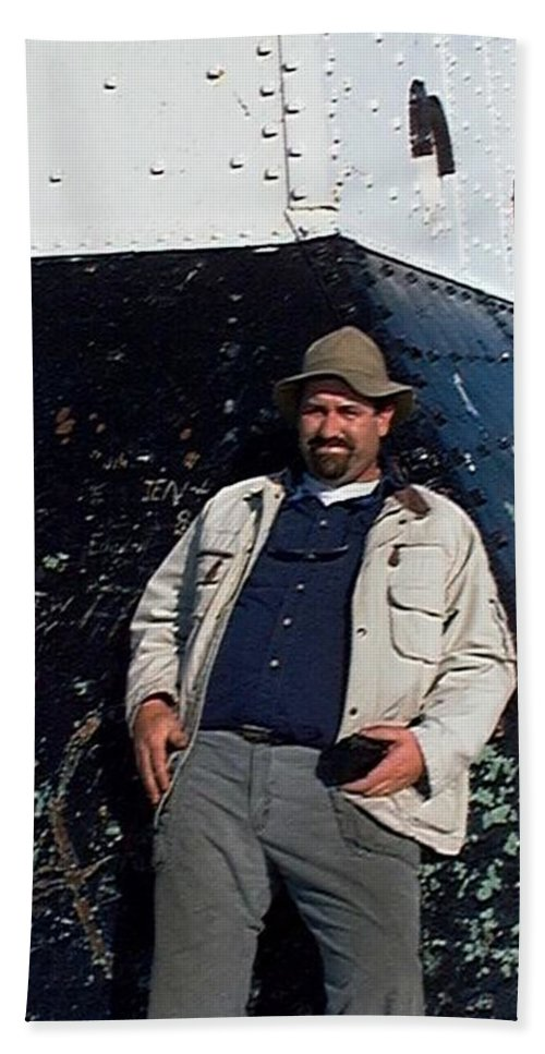 Fishing Hand Towel featuring the photograph John by Joseph Yarbrough
