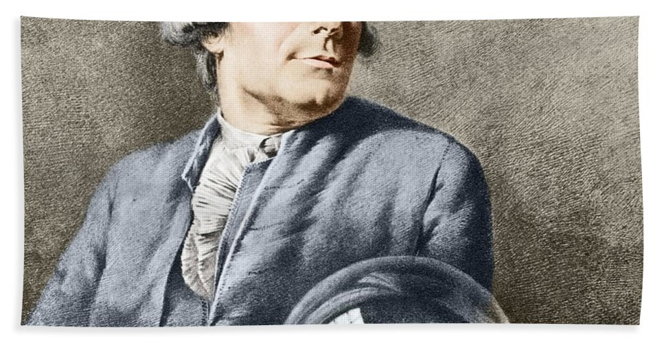 Technology Hand Towel featuring the photograph Joseph-michel Montgolfier, French by Science Source