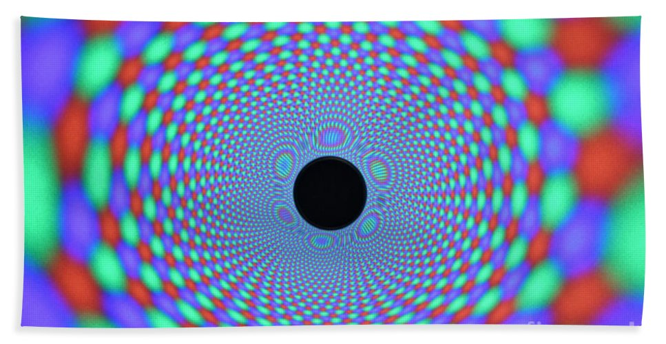 Magnet Hand Towel featuring the photograph Magnetic Fields by Ted Kinsman