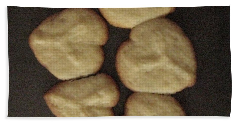 Heart Cookies Bath Sheet featuring the photograph Mom's Love by Sonali Gangane
