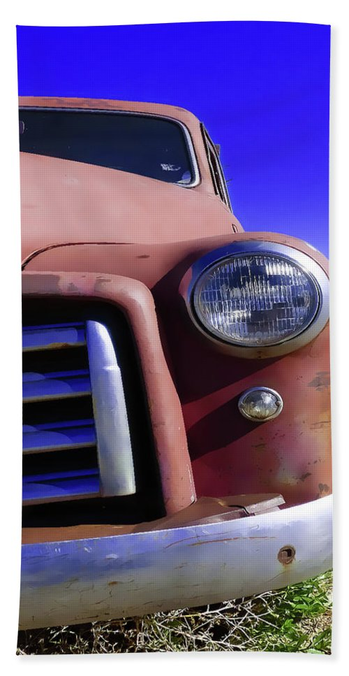 Truck Hand Towel featuring the photograph Northwest Of Taos by Terry Fiala