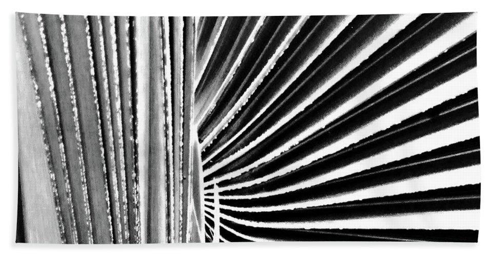 Palmetto Bath Sheet featuring the digital art Palmetto by Lizi Beard-Ward