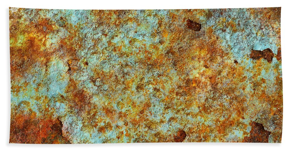 Abandoned Bath Sheet featuring the photograph Rust Colors by Carlos Caetano