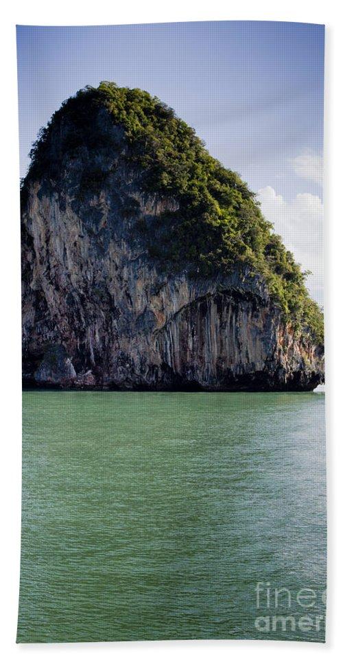 Si Phang-nga Bath Sheet featuring the photograph Si Phang-nga National Park by Sv