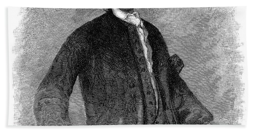 18th Century Hand Towel featuring the photograph Sir William Pepperell by Granger