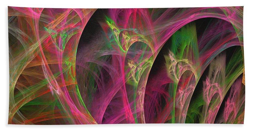 Apophysis Bath Sheet featuring the digital art Sirius by Kim Sy Ok