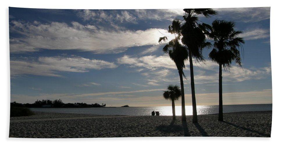 Beach Bath Sheet featuring the photograph Sombrero Beach by Kimberly Mohlenhoff