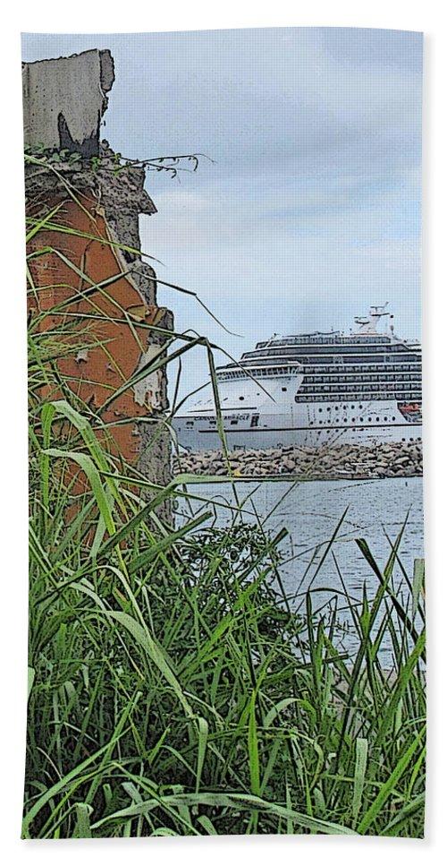 Cruise Bath Sheet featuring the photograph Thrust by Ian MacDonald