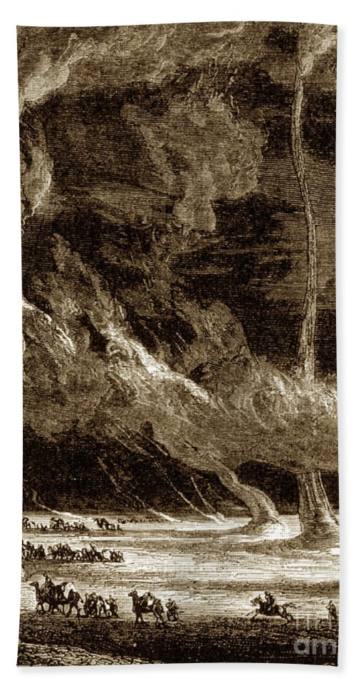 Science Hand Towel featuring the photograph Whirlwinds, 1873 by Photo Researchers