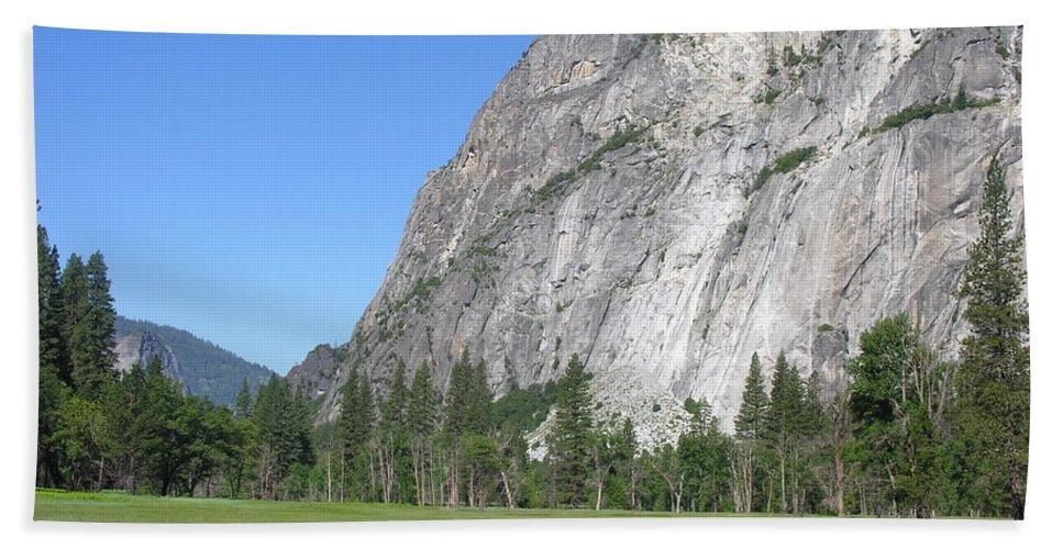Yosemite National Park Bath Sheet featuring the photograph Yosemite National Park by Diane Greco-Lesser