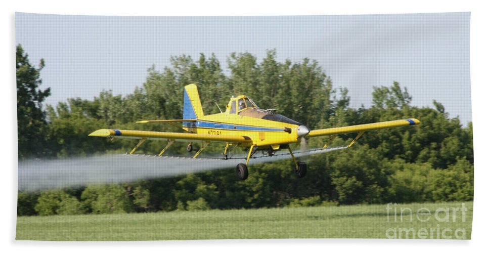 Plane Bath Sheet featuring the photograph Plane by Lori Tordsen
