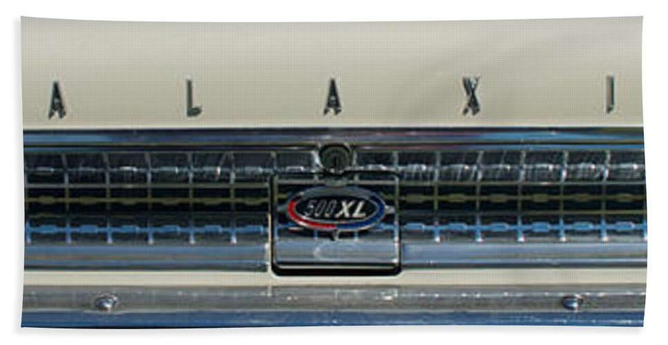 1963 Ford Galaxie Hand Towel featuring the photograph 1963 Ford Galaxie 2 by Mark Dodd