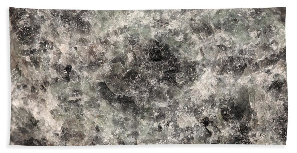Rock Hand Towel featuring the photograph Anorthosite by Ted Kinsman