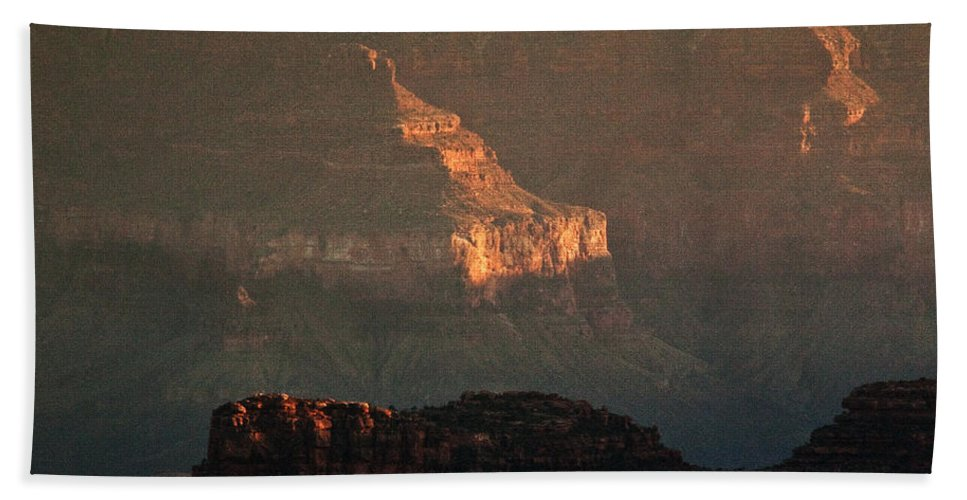 Usa Hand Towel featuring the photograph Grand Canyon by Aurica Voss